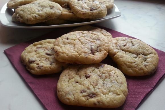 Cookies ai due cioccolati