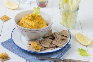 Hummus di carote affumicate