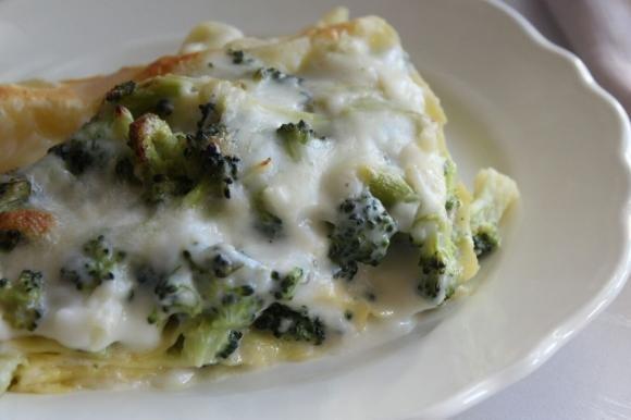 Lasagne con broccoli e gorgonzola