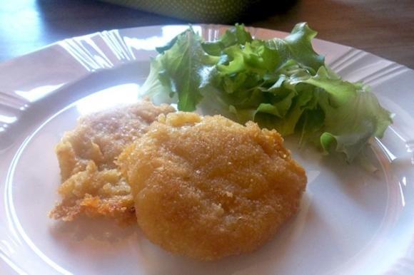 Crocchette di patate allo zafferano cotte al forno