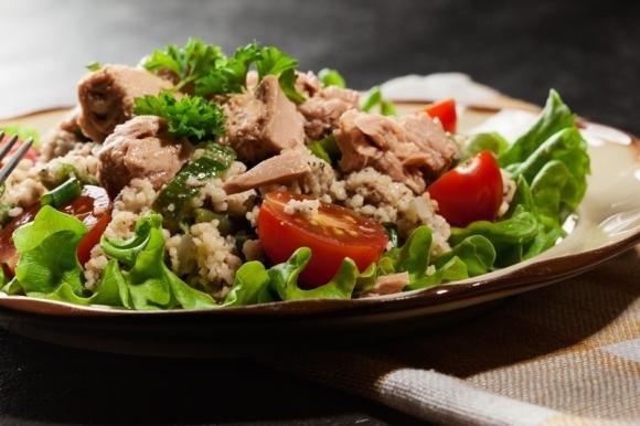 Couscous tonno e zucchine