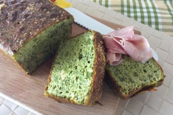 Plumcake salato con broccoli e provola