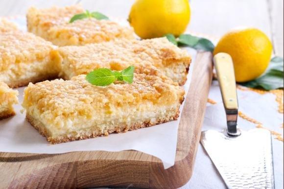 Sbriciolata ricotta e limone