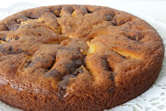Torta 7 vasetti con mele, cioccolato bianco e fondente