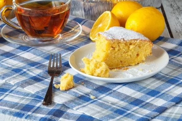 Torta 5 minuti al limone