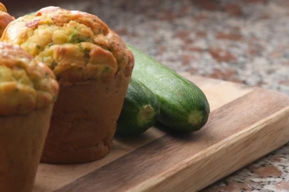 Muffin di patate e zucchine