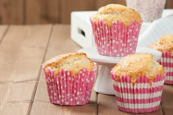 Muffin soffici all'acqua