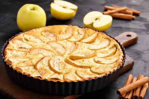 Torta mele e ricotta