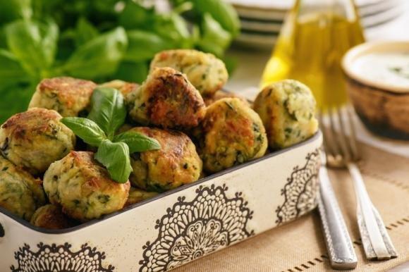 Polpette di zucchine e scamorza