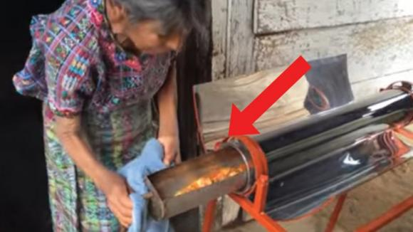 Questa invenzione permette di cucinare ovunque, senza elettricità o combustibili