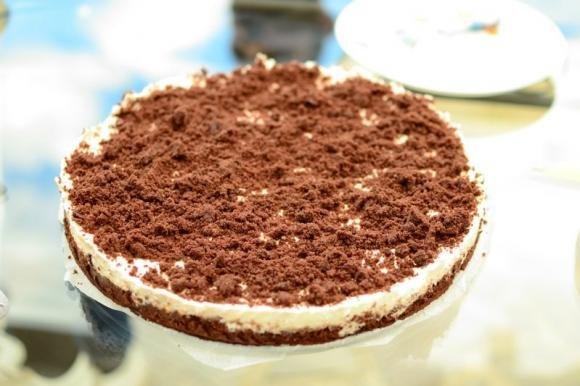 Sbriciolata fredda al cacao