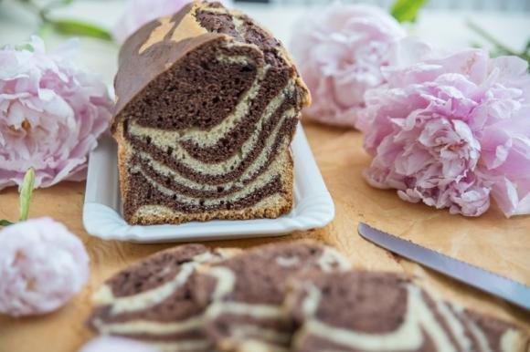 Plumcake soffice cioccolato e panna