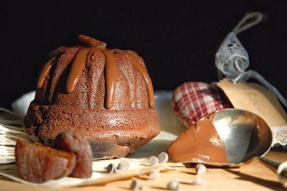 Tortine al doppio cioccolato e albicocche