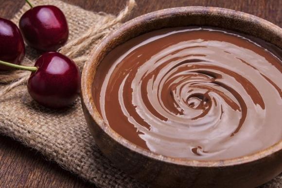 Glassa al cioccolato fondente
