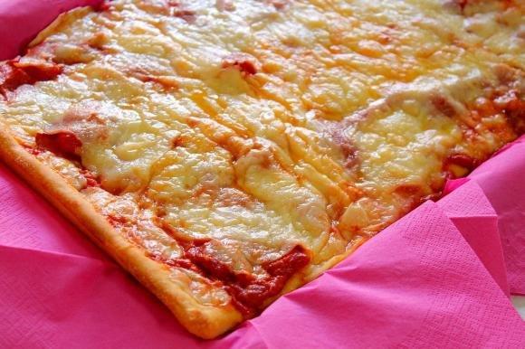 Pizza romana ai 4 formaggi