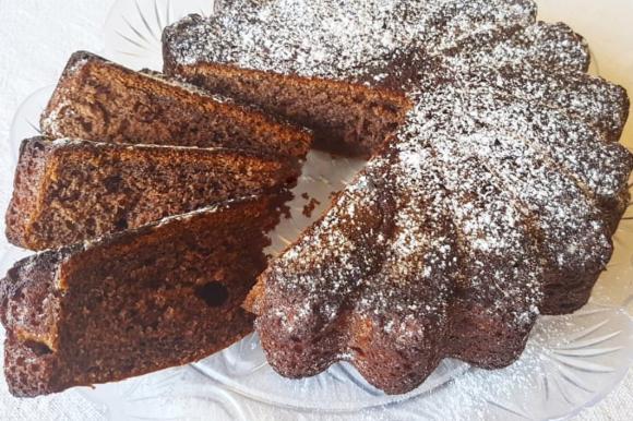 Torta margherita al cacao e latte condensato