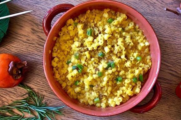 Zuppa di lenticchie rosse al curry indiano