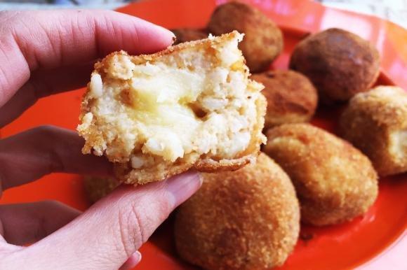Arancini ai formaggi con cuore filante