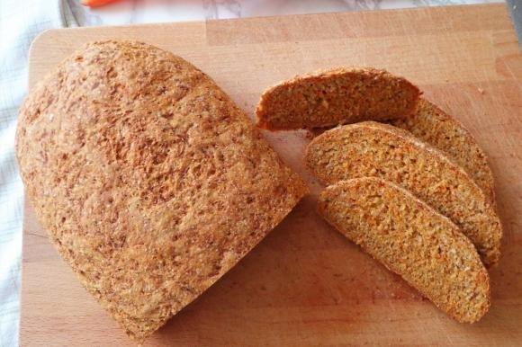 Pane integrale alle carote