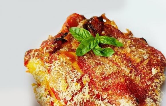 Parmigiana di peperoni