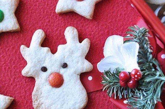 Biscotti di Natale con farina di riso