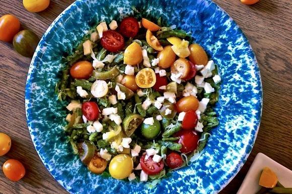 Spatzle ai tre pomodorini e mozzarella