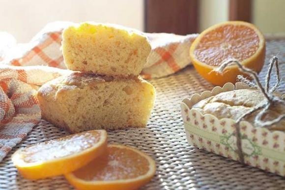 Mini plumcake arancia e miele