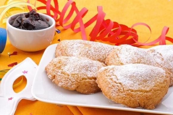 Ravioli dolci di Carnevale al forno