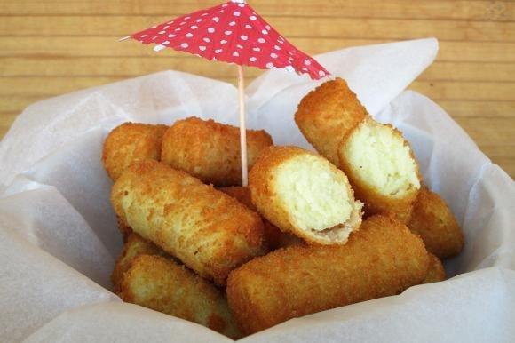 Crocchette di patate e ceci
