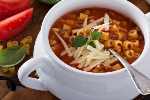 Pasta e lenticchie Bimby con pomodoro