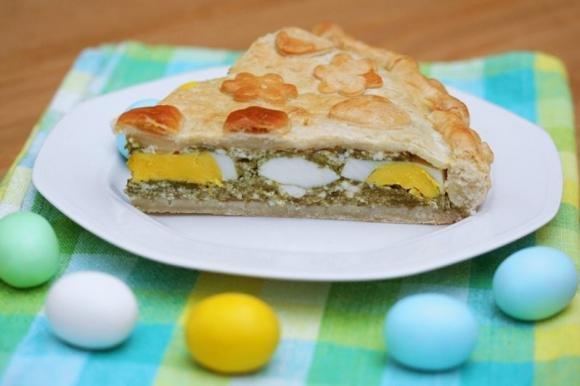 Torta Pasqualina Bimby con carciofi