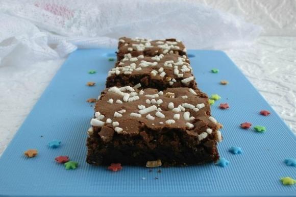 Brownies cioccolato e rum Bimby