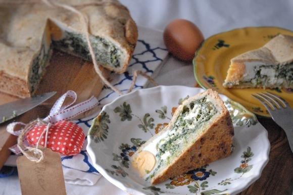 Torta Pasqualina al parmigiano