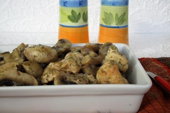 Boccocini di pollo ai funghi bimby