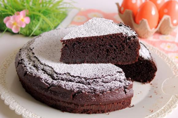 Torta soffice cacao e ricotta