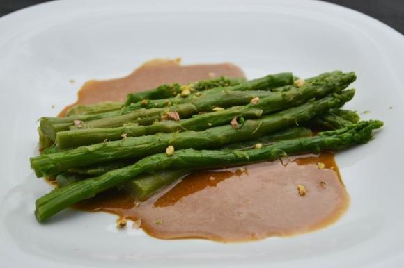 Asparagi in salsa agrodolce