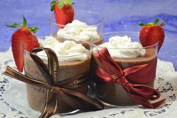 Mousse soffice cioccolato e panna