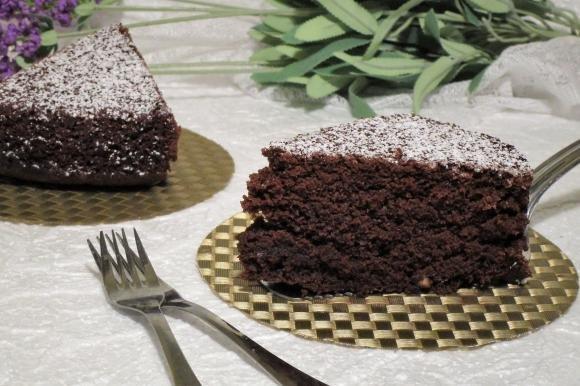 Torta al cacao senza lievito Bimby