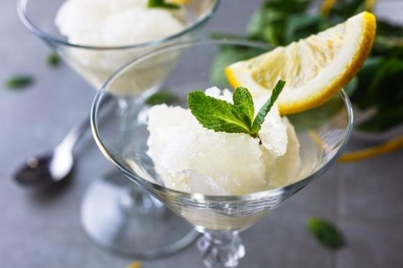 Granita al limone Bimby