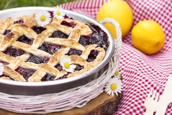 Berry Pie al profumo di limone