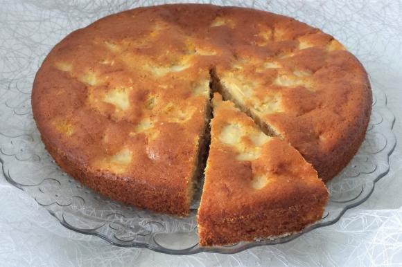 Torta mele e cannella al profumo di limone