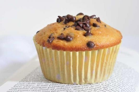 Muffin senza latte e senza burro