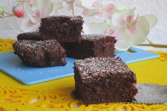 Brownies al profumo d'arancia Bimby
