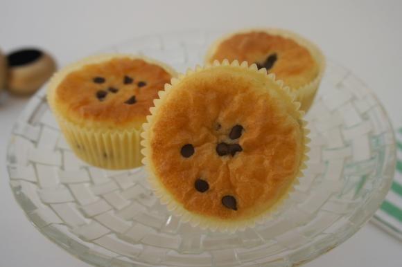 Muffin 8 cucchiai con gocce di cioccolato