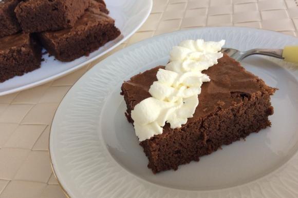 Brownies al cioccolato extra fondente