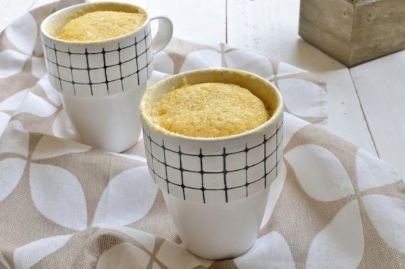 Mug Cake alla mela e cannella