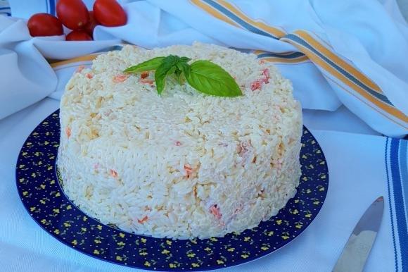 Torta di insalata di riso