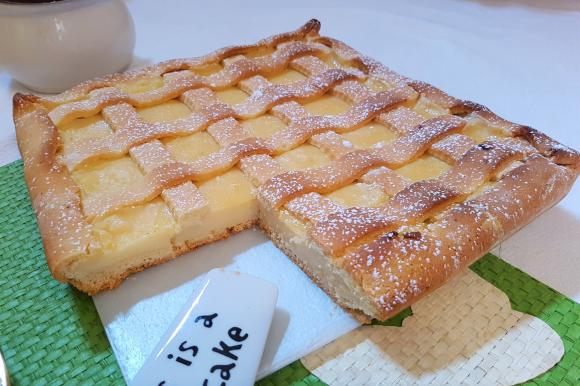 Crostata con crema al succo di limone