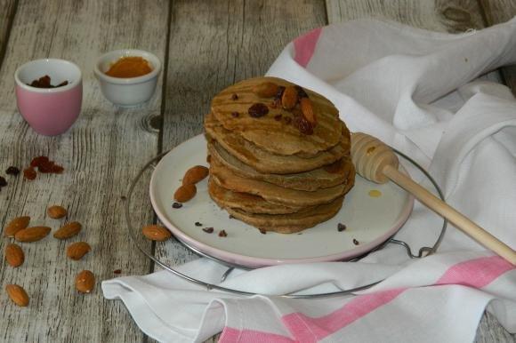 Pancake integrali alla cannella