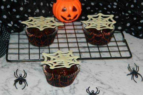 Spider Cupcake al cioccolato